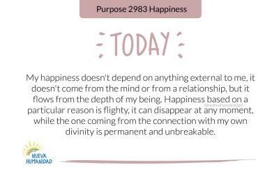 Propósito 2983 Felicidad