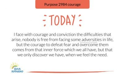 Purpose 2984 courage