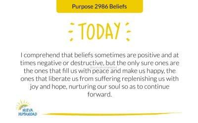 Purpose 2986 Beliefs