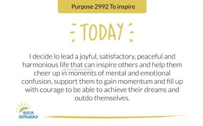 Purpose 2992 To inspire