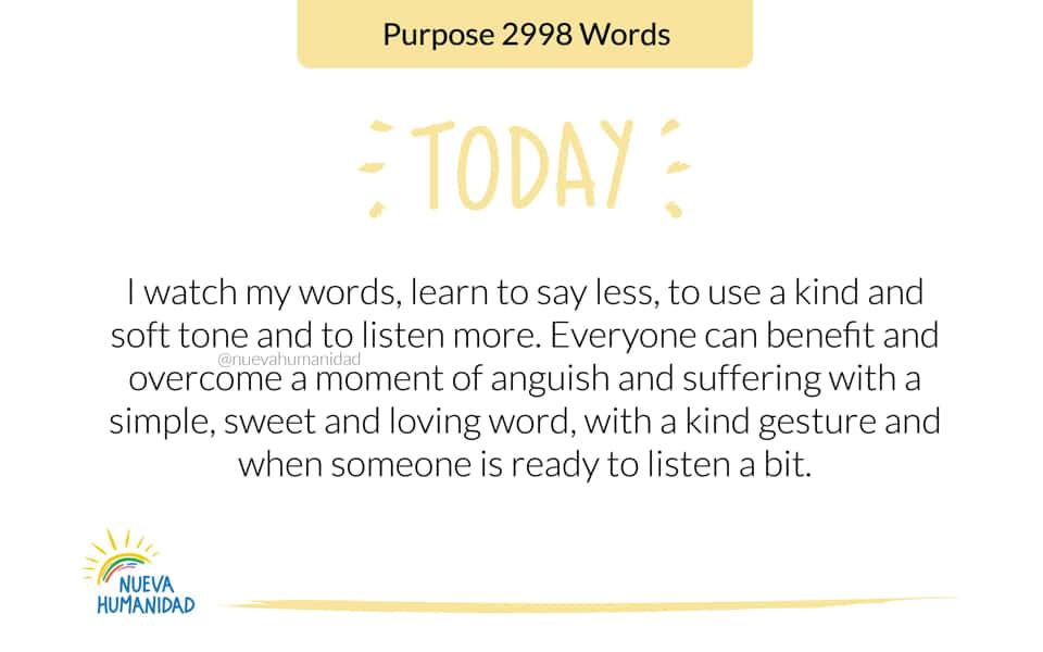 Purpose 2998 Words