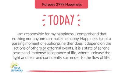 Purpose 2999 Happiness