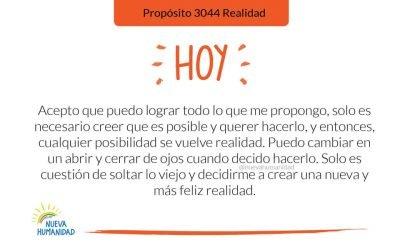 Propósito 3044 Realidad