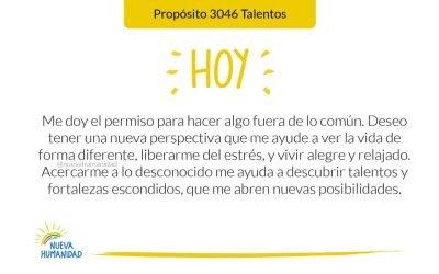 Propósito 3046 Talentos