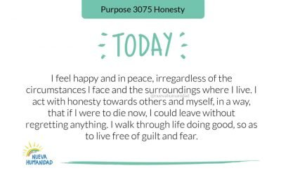 Purpose 3075 Honesty