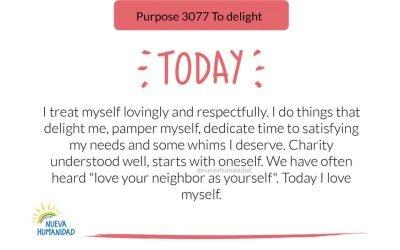Purpose 3077 To delight