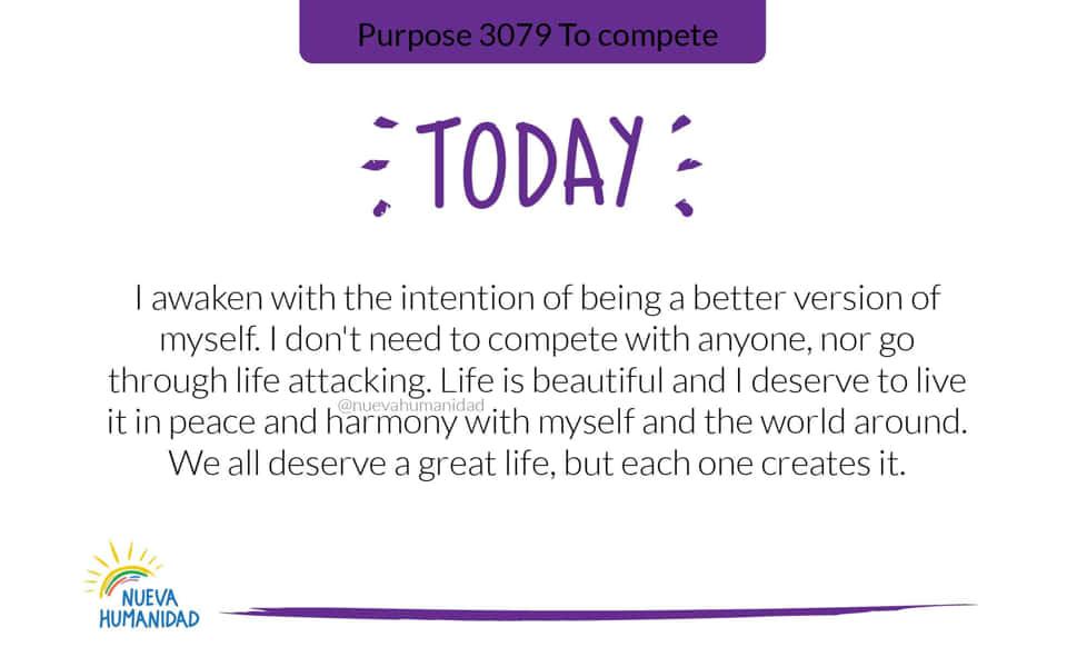 Purpose 3079 To compete
